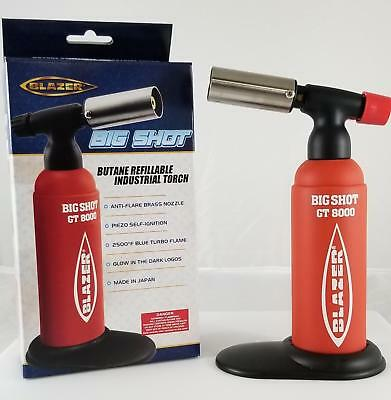 Big Shot Torch GT8000 by Blazer Limited Edition Lava Red