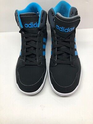 dc17471092fb8 ADIDAS NEO BB9TIS size 7.5 Mid Top NEW IN BOX Black/Grey UK 7 ...