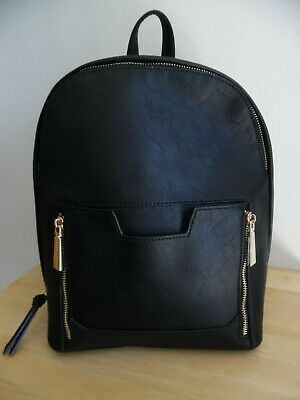 Big Buddha Black Women's Backpack - 10 x 12 x 5 Excellent Condition