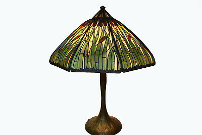 Handel 24 Inch Cattail Overlay Tall Leaf Pattern Base