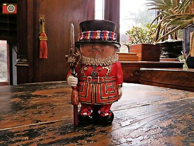 """Mini Me """"Beefy"""" Beefeater Figure & Ornament. Full Of Character. Great Gift."""
