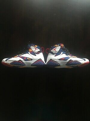fe7a4344adf7b4 2015 NIKE AIR Jordan 7 Retro Nothing But Net  Ugly Sweater Size 10 ...