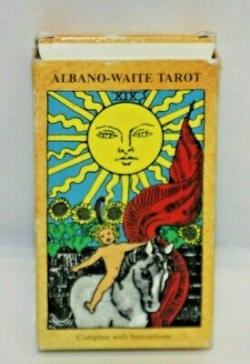 Vintage Albano Waite 1987 Tarot Cards Deck Published in Belgium Rare Free S&H
