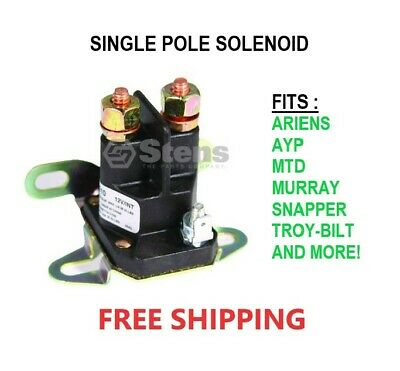 Lawn Mower Parts & Accessories RELAY SOLENOID for Ariens 03038700 35770 35832 AR03577000 AR03583200 Lawn Mowers Lawn Mowers