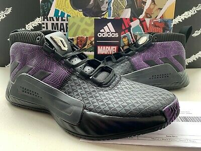 d094ec1fb74d6 MEN S ADIDAS DAME 4 - Black Static Lillard 4 Basketball Sneaker size ...