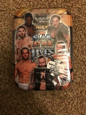 Topps WWE Slam Attax Live Trading Cards Game Mini Tins; 44 + 1 Limited Edition