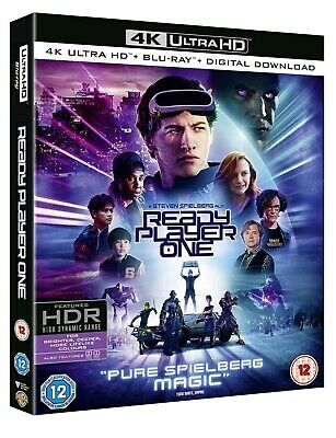 Ready Player One (Bluray 4K) Uhd Includes 2D Bluray