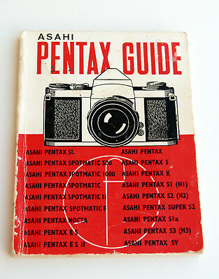 *c1975* ● Asahi PENTAX SLR GUIDE 18th Edition (Focal Press) ● Softbound 72pp