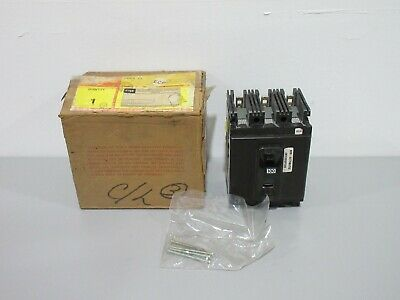 New Federal Pacific NEG631100NA 3P 600VAC 100A Circuit Breaker