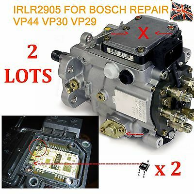 2 Bosch VP44 VP30 VP29 Injection pump repair Transistor IRLR2905  Audi BMW Ford