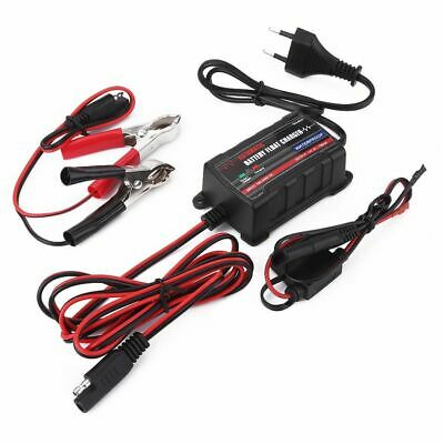12V Automatic Battery Trickle Charger Maintainer For Car Motor ATV RV Eu Plug
