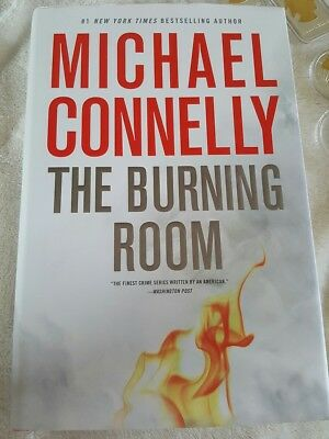The Burning Room (A Harry Bosch Novel) by Michael Connelly Hardback Book