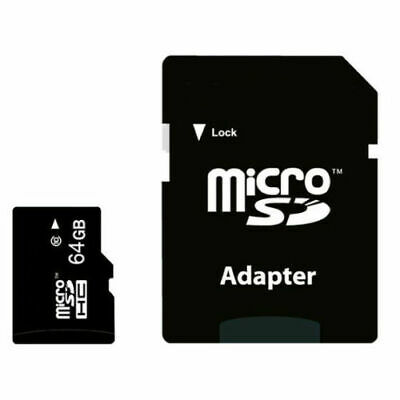 128GB Micro SD Speicherkarte Kartenadapter Card Reader Handy Tablet Navigation