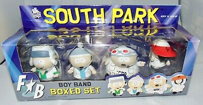 New Mezco South Park Boy Band Boxed Set Action Figures Sealed