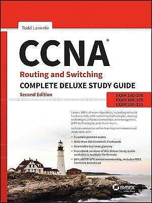 [PDF] CCNA Routing and Switching Complete Deluxe Study Guide Exam 100-105, Ex...