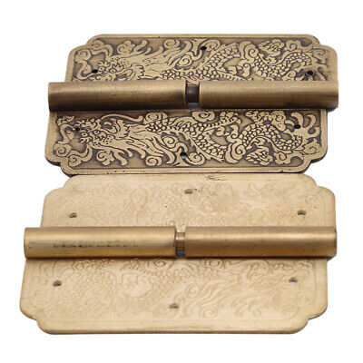 Door Hinge Brass Hinges Chinese Ancient Retro Style Wooden Box Accessories D