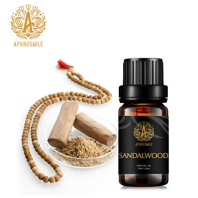 ESSENTIAL OIL SANDALWOOD 10ml Pure & Natural Sandalwood Aromatherapy Diffuser US
