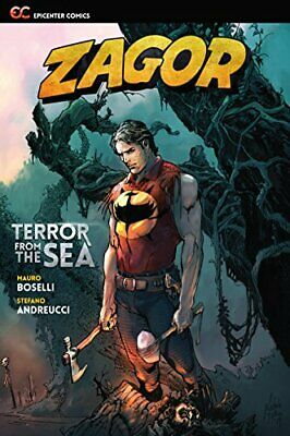 ZAGOR: TERROR FROM SEA By Stefano Andreucci (artist) **BRAND NEW**