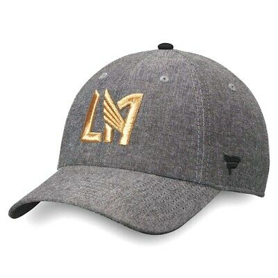 on sale 8358c 7cd6d Los Angeles Football Club LAFC Chambray Adjustable Dad Cap Hat - Gray