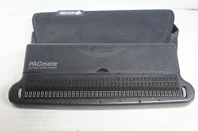 🍀 ‡ Freedom Scientific Pacmate PM40 Portable Blind Braille Display Omni QX400