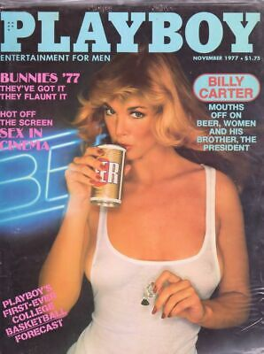 Playboy November 1977 / Susan Kiger / Bunnies of '77 / Billy Carter