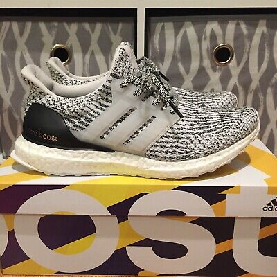 6387fd2a297b4 2017 Adidas Ultra Boost 3.0 Oreo Zebra Mens Size 7.5 NMD used Ultraboost  Yeezy