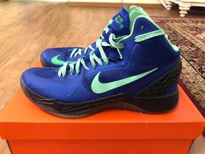 4475fdd9a07c6 Nike Zoom Hyperdisruptor Mens Size 11 Basketball Shoes Blue Sneakers 548180  402