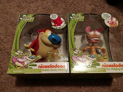 Just Play Ren And Stimpy Bobble Booty Action 6 Toy Figure Collectible Best Gift