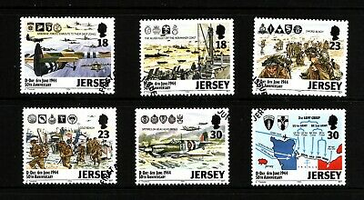 1994 Jersey, 50th Anniversary of D-Day, Fine Used Set of Stamps, SG 659-4