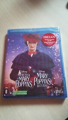 LE RETOUR DE MARY POPPINS - BLU RAY DISNEY - neuf - sous blister