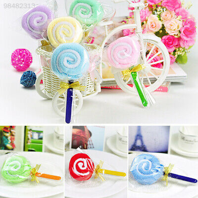 5399 New Lollipop Baby Washcloth Towel Party Wedding Favor Xmas Gift Randomly