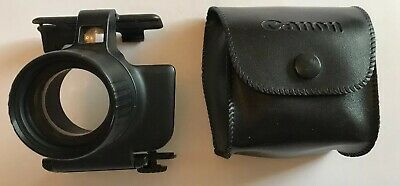 Vintage Canon AF Telephoto Converter & Pouch, Camera Photography Attachment
