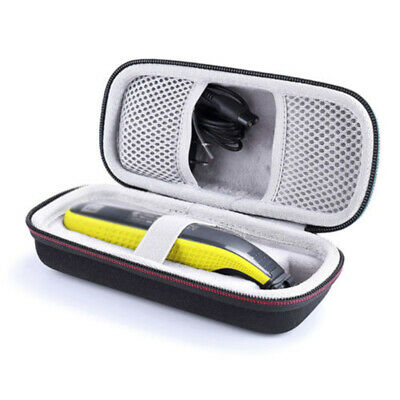 Hard Case Bag For Philips OneBlade QP2530/2520 Shockproof Travel Storage New