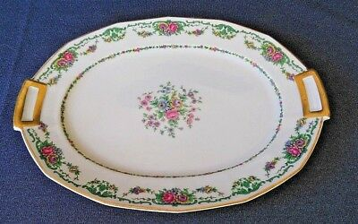"CH Field Haviland Limoges Finest French Ivory China 12"" Serving Platter"