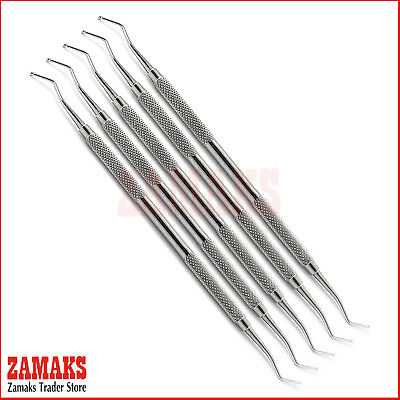 Dental Composite Filling Instruments Placement Restorative Double Ended Set Of 5