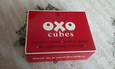 Oxo Cubes Tin minimal rust better than a lot