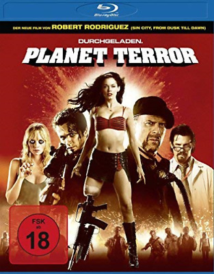 Planet Terror (Blu-Ray) Amaray - (German Import) Blu-Ray Nuevo