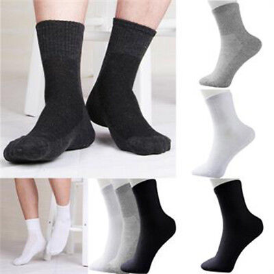 Practice 5 Pairs Men/'s Socks Winter Thermal Casual Soft Cotton Sport Sock Gift