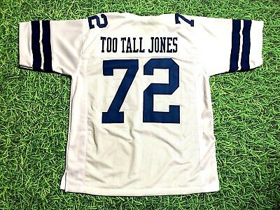 Ed Too Tall Jones Custom Dallas Cowboys Jersey