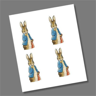 Peter Rabbit Beatrix Potter Decals Stickers 2019 x 4