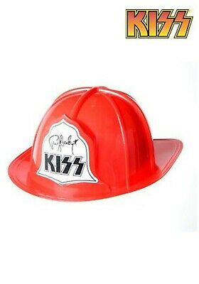 f5c97061099 NEW KISS Firehouse Fire Hat Helmet Paul Stanley END OF ROAD FREE U.S.  SHIPPING