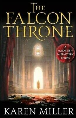 The Falcon Throne: Book One of the Tarnished Crown - Very Good Book Miller, Kare