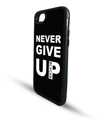 Never Give Up Quote Sports Salah Liverpool TPU Snap back Phone case clip cover