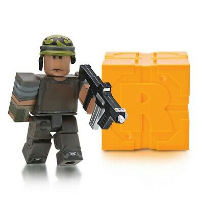 Roblox Series 5 AFTER THE FLASH: CDF SOLDIER Mystery Toys+Infantry Helmet Codes