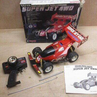 Taiyo Super Jet 4WD Vintage Remote Control Car Buggy Boxed Tested Working