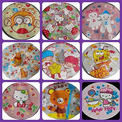 Shower cap Hello Kitty Winnie Pooh Teddy SpongeBob Piggy Little Twin Stars Cute
