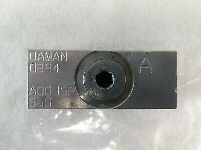 DAMAN 0294 Manifold Sub Plate AD035P565 (USED) in good usable condiion.