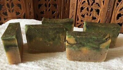 Cedarwood Orange Bergamot Lavender Rosemary_Handmade Vegan bar soap