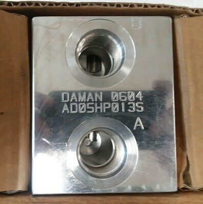 DAMAN 0604 Manifold Block AD05HP013S (BRAND NEW) unused,in factory packaging.