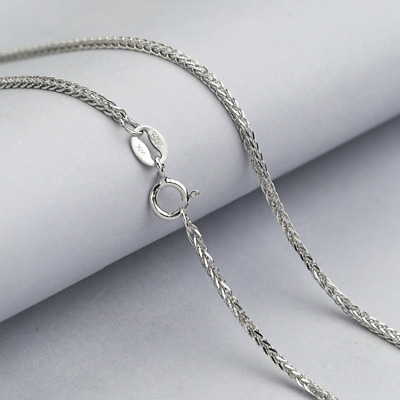 REAL Fashion Classic 925 Sterling Silver Chopin Chain Necklace SOLID Jewelry